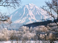 Вулкан Корякская сопка (3456 м.)