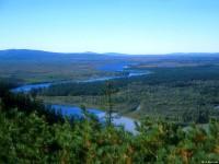 Панорама долины реки Кава